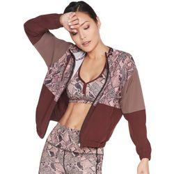 Skechers Womens Skechweave Ravenous Print Bomber Jacket