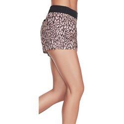 Skechers Womens Boundless Ripstop Cheetah Print Shorts