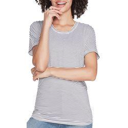 Skechers Womens Dart Striped T-Shirt