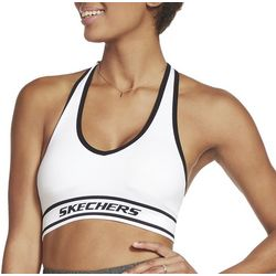 Skechers Womens Adjustabke Strap Racer Back Sports Bra