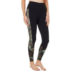 Skechers Womens Camo Block High Waisted Leggings