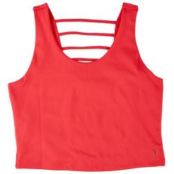 Womens Solid Sleeveless Top