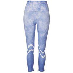 Womens Tie Dye Wave Leggings