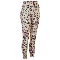 Marika Womens Womens Leopard Printed Leggings