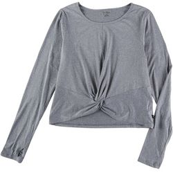 Jessica Simpson Womens Active Front Twist Top