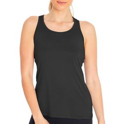 Marika Womens Mesh Panel Solid Tank Top