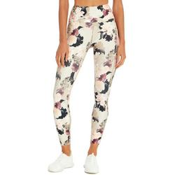 Womens High Rise Floral Leggings