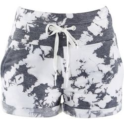 Jessica Simpson Womens Active Tie-Dye Pull On Shorts