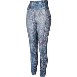Womens Snakeskin Print Leggings