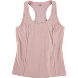 Jessica Simpson Womens Solid Racerback  Tank