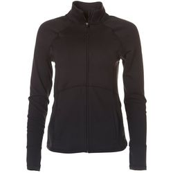 Marika Womens Active Zippered Long Sleeve Jacket