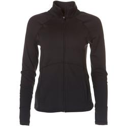 Womens Active Zippered Long Sleeve Jacket