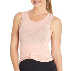 Jessica Simpson Womens Hermosa Solid Scoop Neck Tank Top