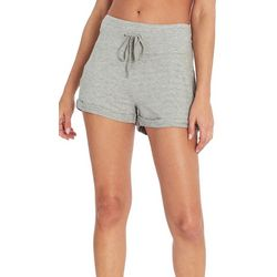 Jessica Simpson Womens Danni Solid Drawstring Shorts