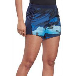 Reebok Womens Essential Printed Athletic Shorts