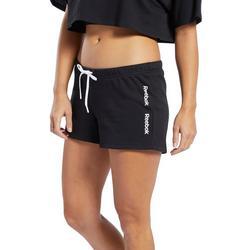 Womens Training Essentials Linear Logo Shorts
