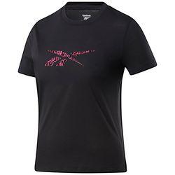 Reebok Womens Leopard Logo Top