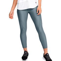 Womens HeatGear Solid Jacquard Leggings