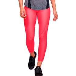 Under Armour Womens HeatGear Solid Jacquard Leggings