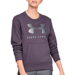 Under Armour Womens UA Fleece Logo Crew Neck Sweatshirt