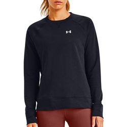 Under Armour Womens UA Rival Terry Crew Neck Sweatshirt