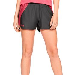 Under Armour Womens Play Up 2.0 Colorblocked Shorts