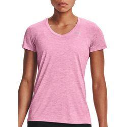 Under Armour Womens Heather V-Neck T-Shirt