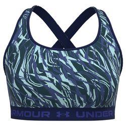 Under Armour Womens Pattern Crossback Sports Bra