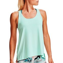 Womens Knockout Solid Racerback Tank Top