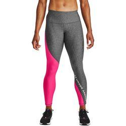 Under Armour Womens HeatGear Colorblock Ankle Crop Leggings
