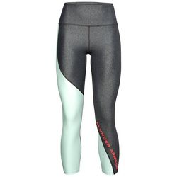 Under Armour Womens HeatGear Colorblock Ankle Crop Leggings
