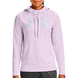 Womens UA Rival Fleece Glitter Logo Hoodie