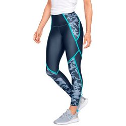 Under Armour Womens Armour Colorblock Crop Leggings