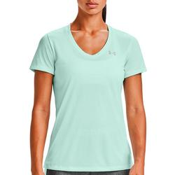 Womens Twist Tech V-Neck Shirt
