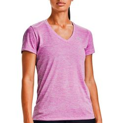 Under Armour Womens Solid V-Neck T-Shirt
