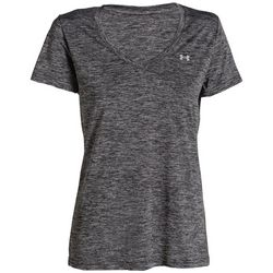 Under Armour Womens Twist Tech V-Neck T-Shirt