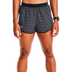 Under Armour Womens Fly-By 2.0 RUN Print Shorts