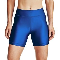 Under Armour Womens HeatGear Mid-Length Shorts