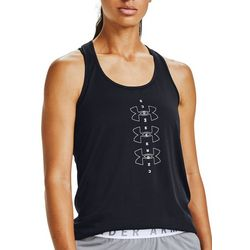 Under Armour Womens Graphic Logo Print Tank Top