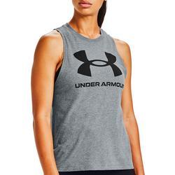 Womens UA Logo Sleeveless Tank Top