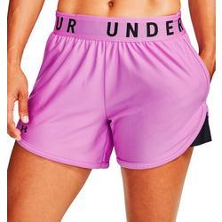 Womens Contrast Logo Shorts