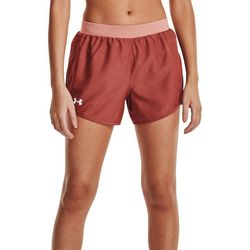 Under Armour Womens Heathered  Fly-By 2.0 Shorts