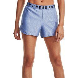 Under Armour Womens Logo Elastic Waist Athletic Shorts