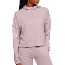 Under Armour Womens UA Rival Fleece Logo Hoodie