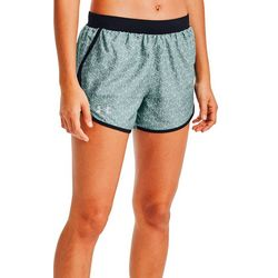 Under Armour Womens Fly-By 2.0 Honeycomb Shorts