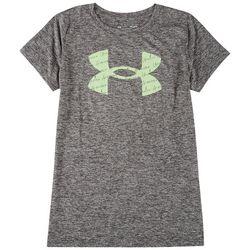 Under Armour Womens Heatgear Front Print T-Shirt
