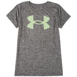 Womens Heatgear Front Print T-Shirt
