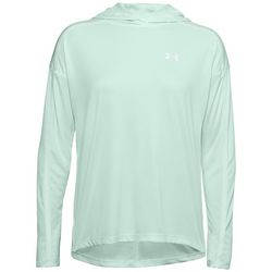 Under Armour Womens Tech Twist Graphic Long Sleeve Hoodie