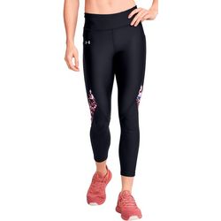 Womens HeatGear Colorblock Printed Leggings