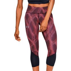 Under Armour Womens Fly Fast Printed Capri Leggings